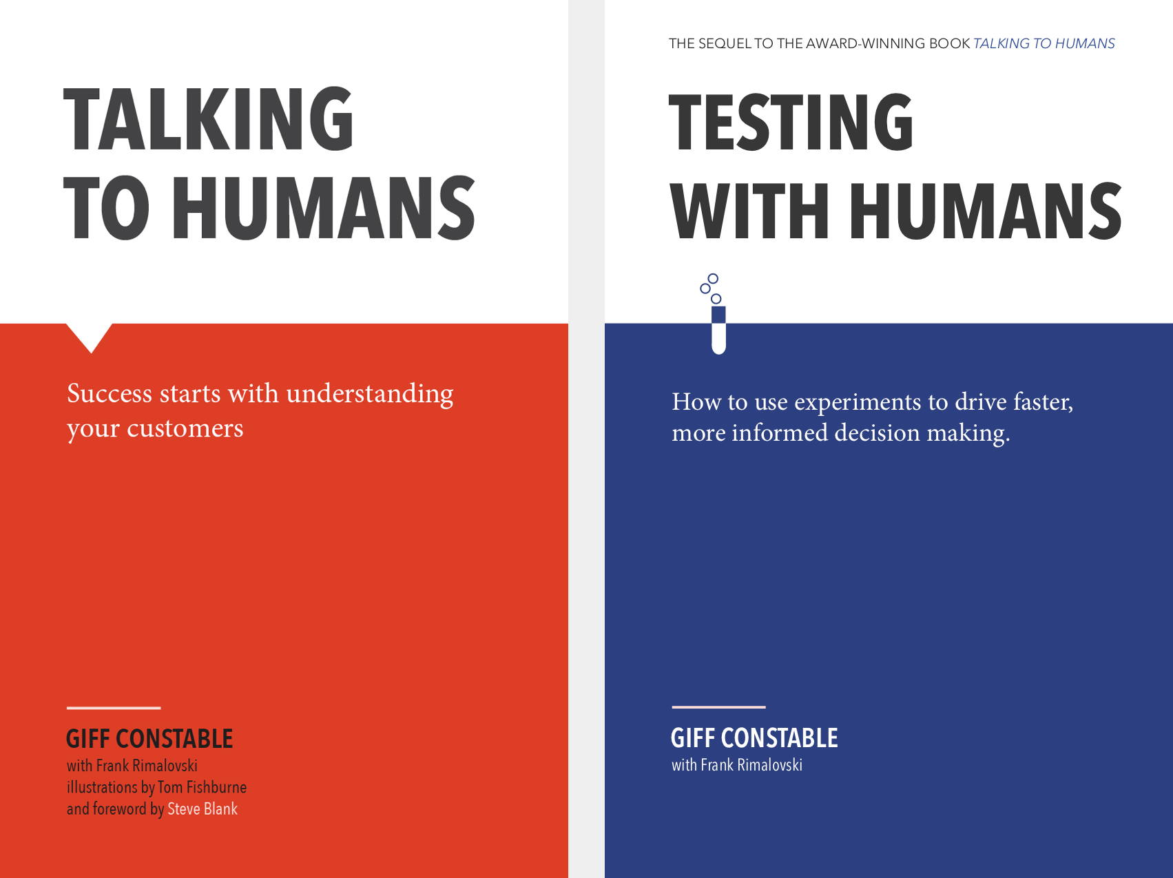 Talking with Humans & Testing with Humans